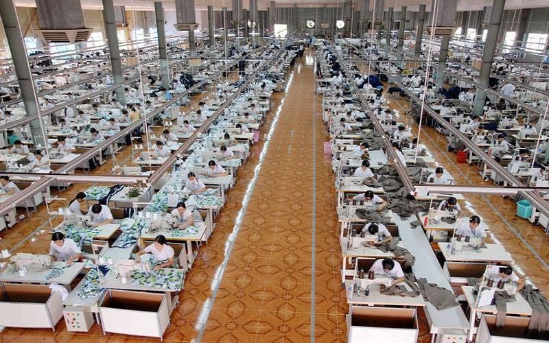 Xưởng may áo thun xuất khẩu