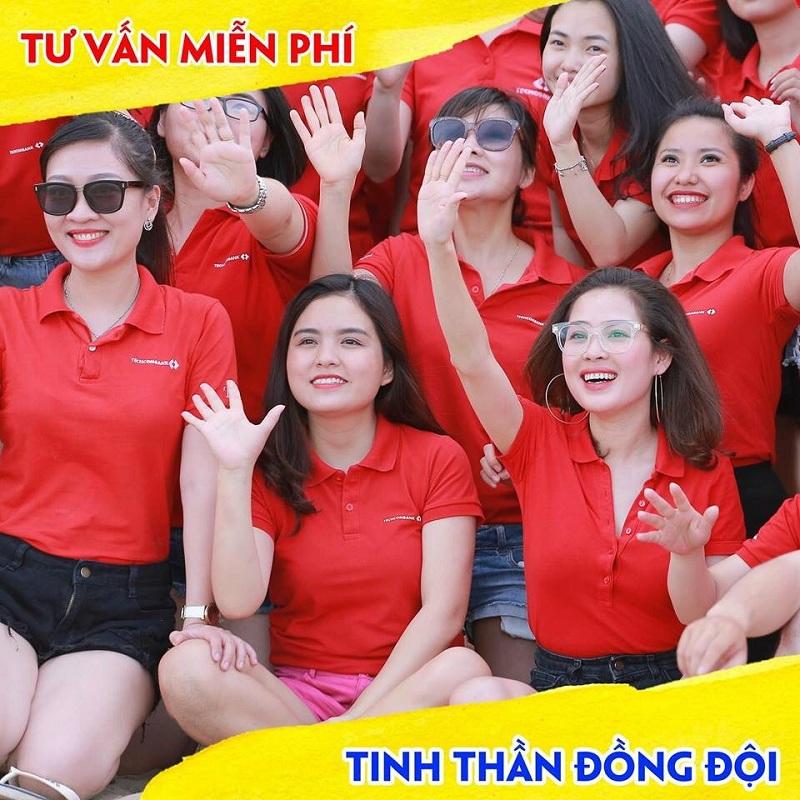ao thun qua tang dep